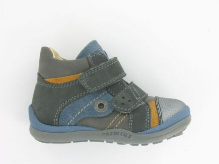 Primigi PEP Leather Velcro Boots (Navy)